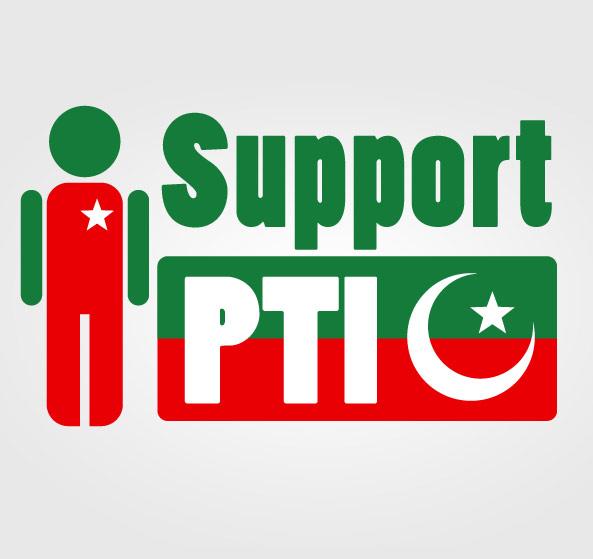 تحریک انصاف کی سیاسی حمایت