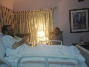 صاحبزادہ ڈاکٹر ساجد الرحمٰن صاحب بگھار شریف کی عیادت