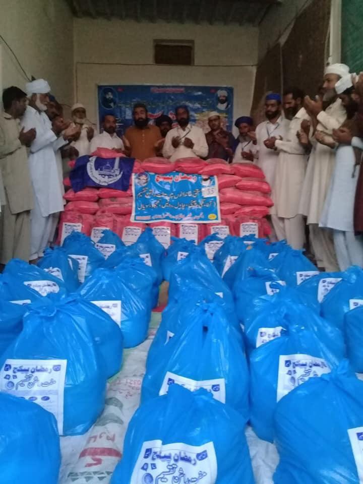 Food Package Distribution تحصیل قائدآبادضلع خوشاب