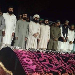بھولا قوال کی نماز جنازہ